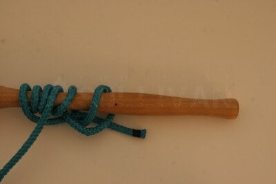 grip hitch knot step 10