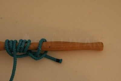 grip hitch knot step 13