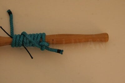 grip hitch knot step 21