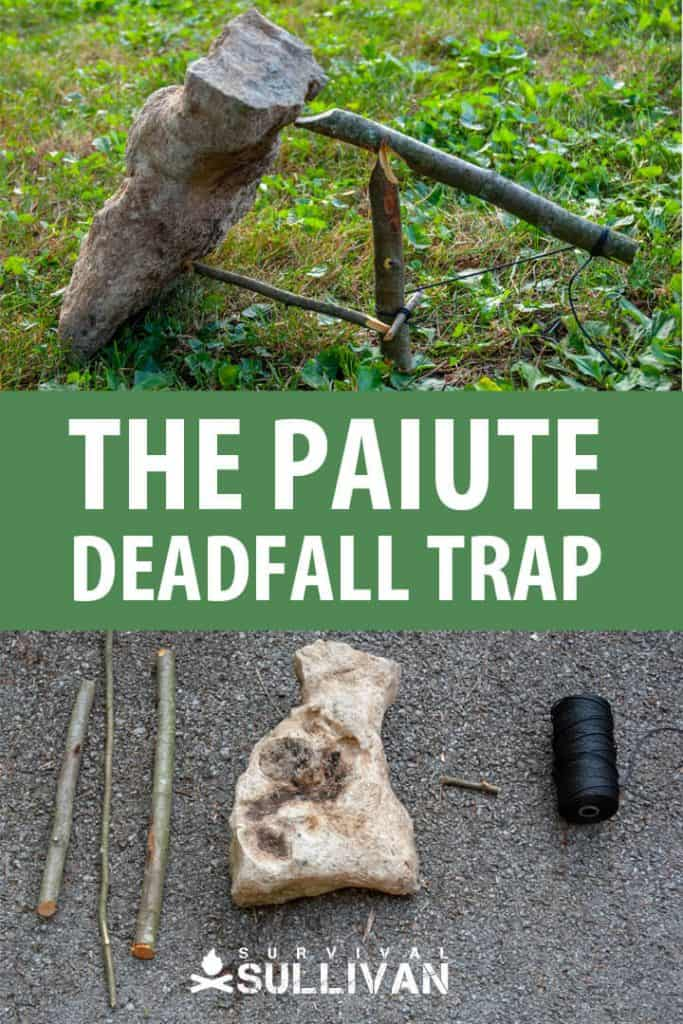 paiute deadfall trap pinterest