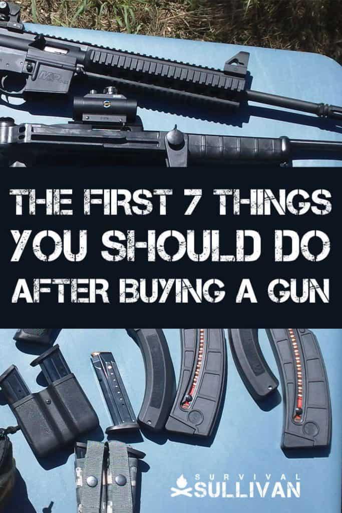 after buying gun pinterest