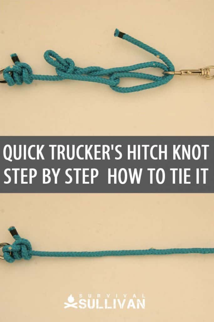 quick trucker's hitch pinterest image