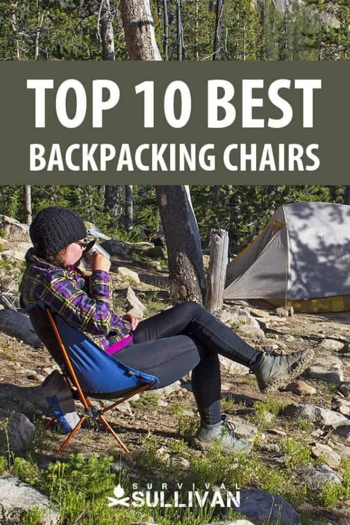 best backpacking chairs pinterest