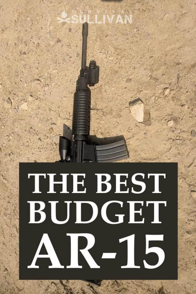 budget ar-15 Pinterest image