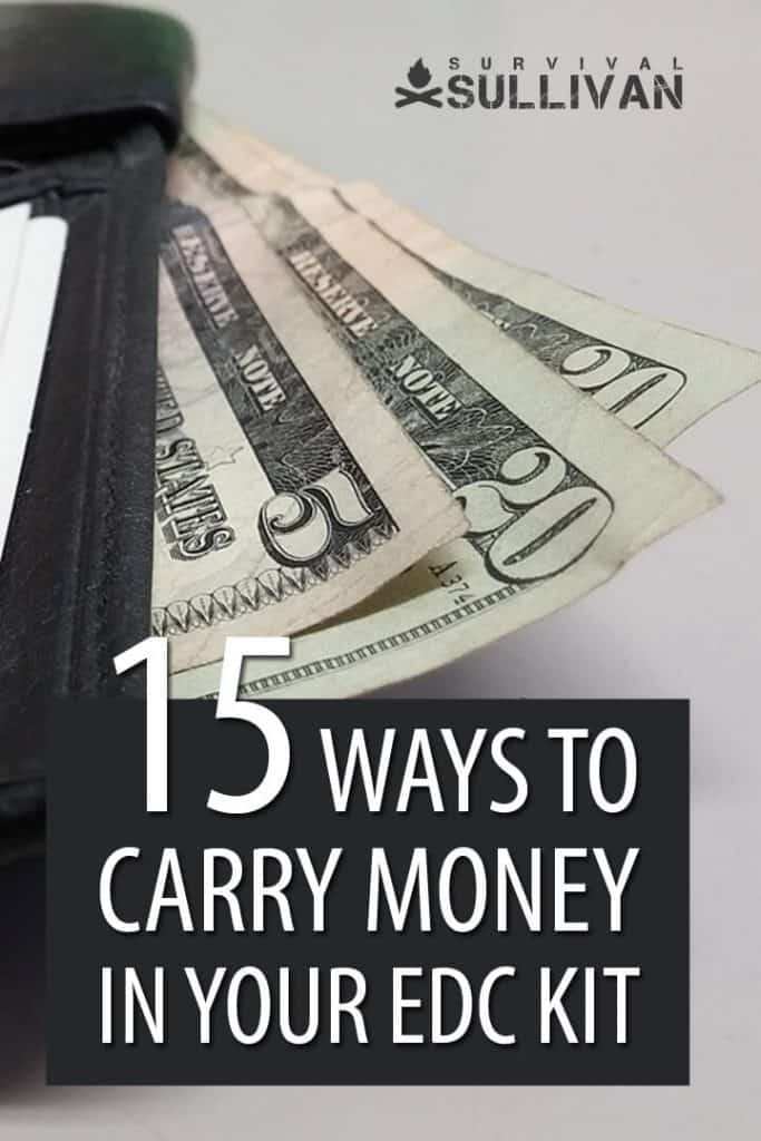 EDC money Pinterest image