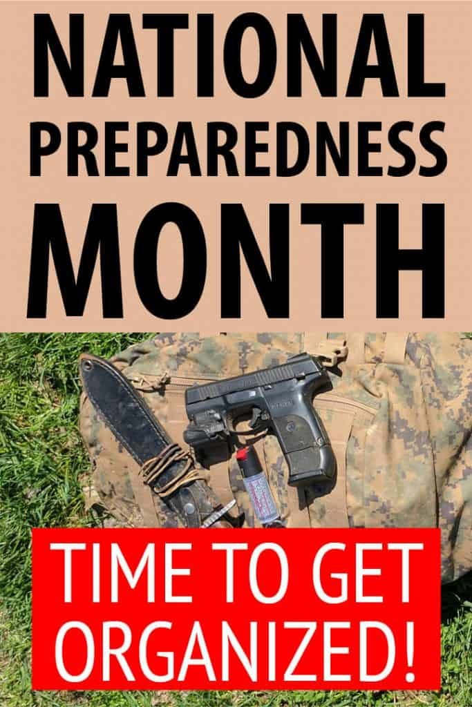 national preparedness month Pinterest image