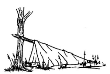 one-man shelter