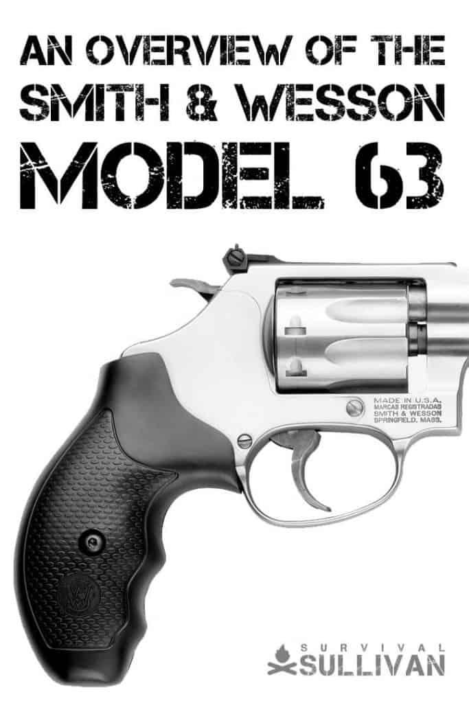 s&w model 63 Pinterest image