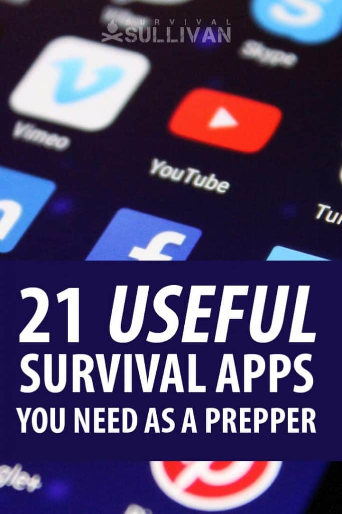 survival apps pinterest