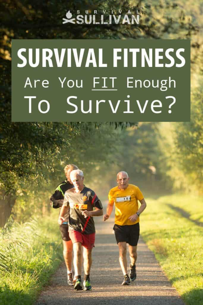 survival fitness Pinterest image