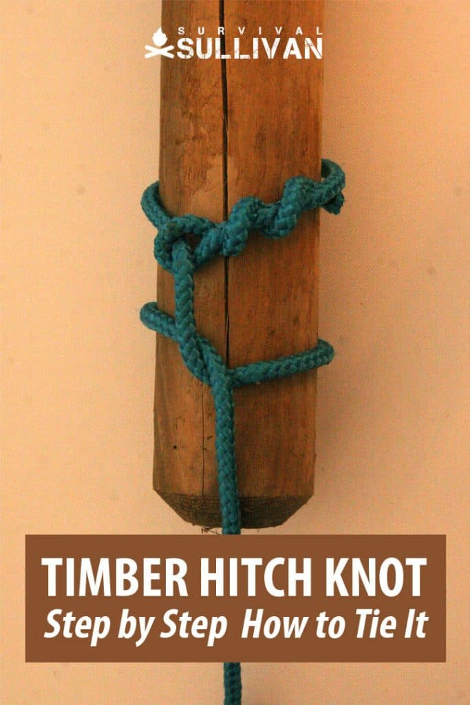 timber hitch knot pinterest