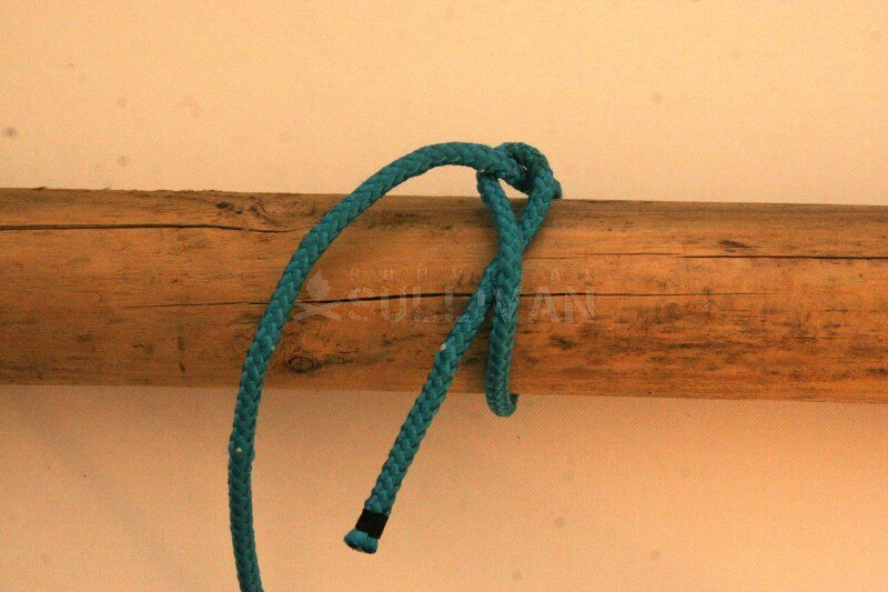 timber hitch knot step 4