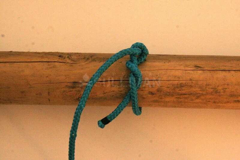timber hitch knot step 6