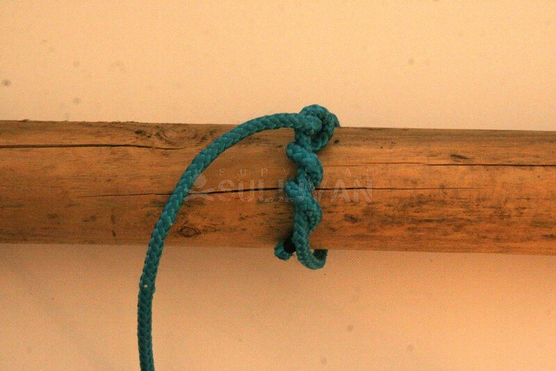 timber hitch knot step 7