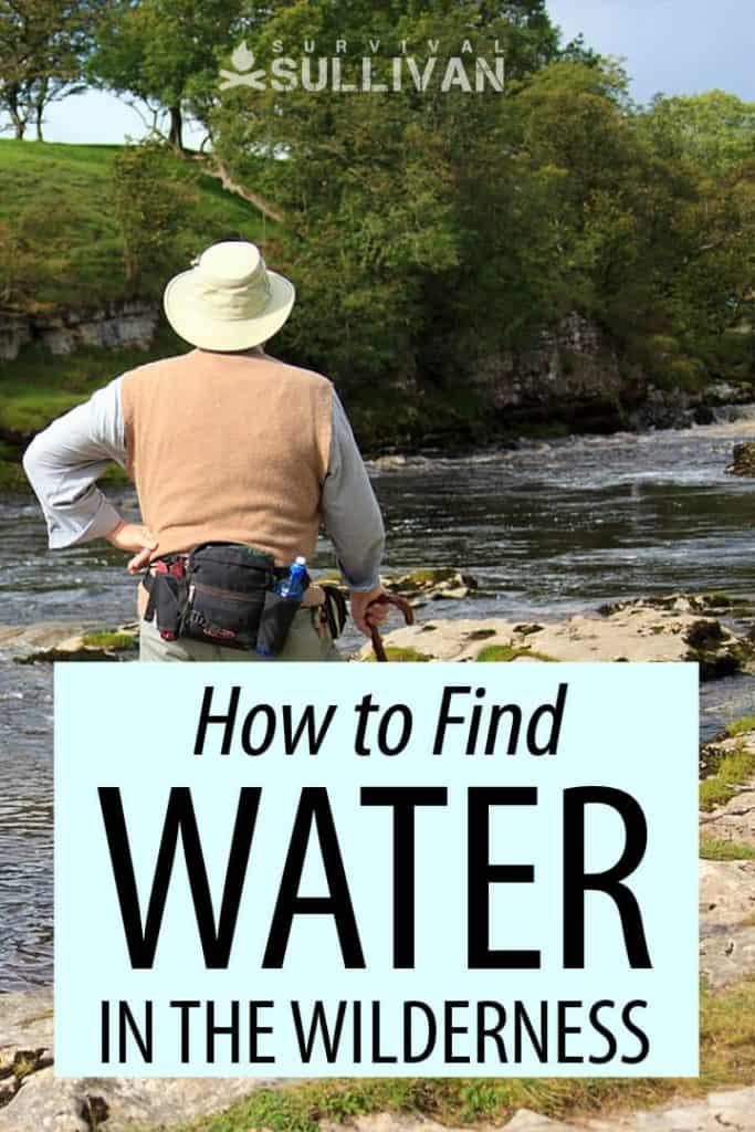wilderness water Pinterest image