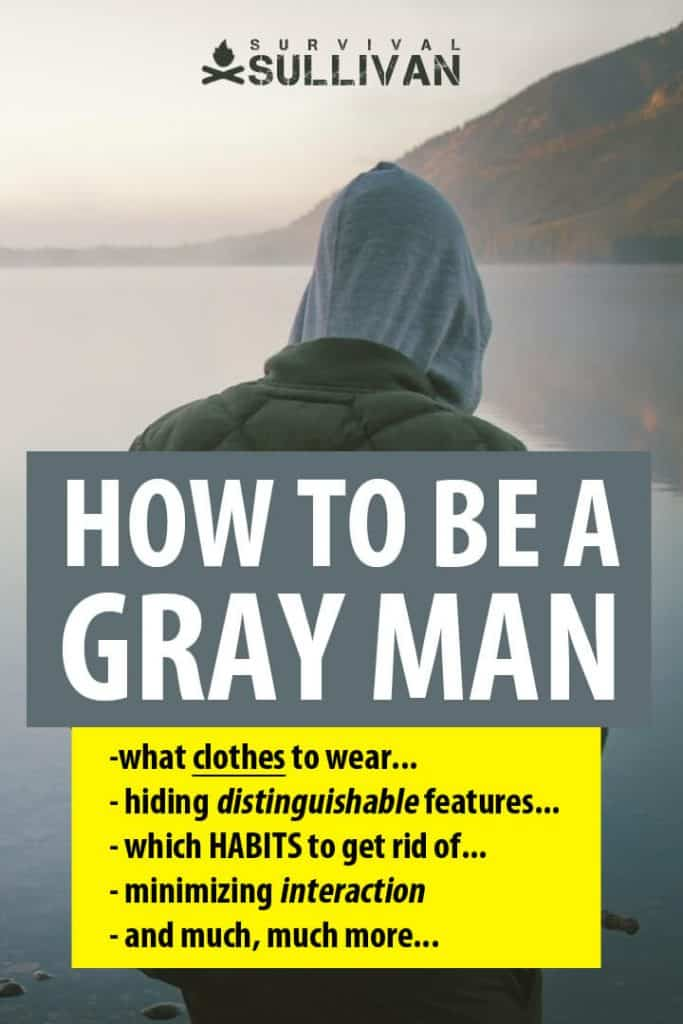 being a gray man Pinterest image