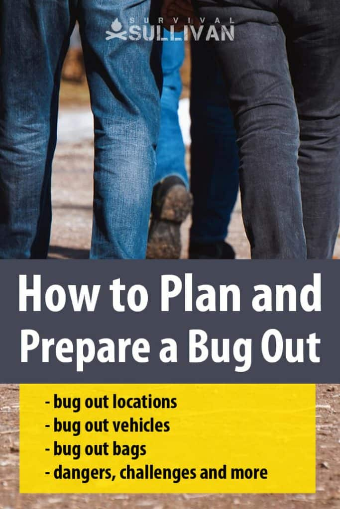 bugging out pinterest image