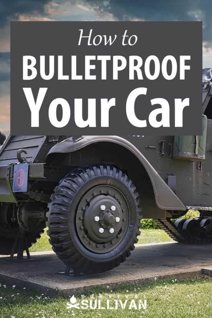 bulletproof car Pinterest image