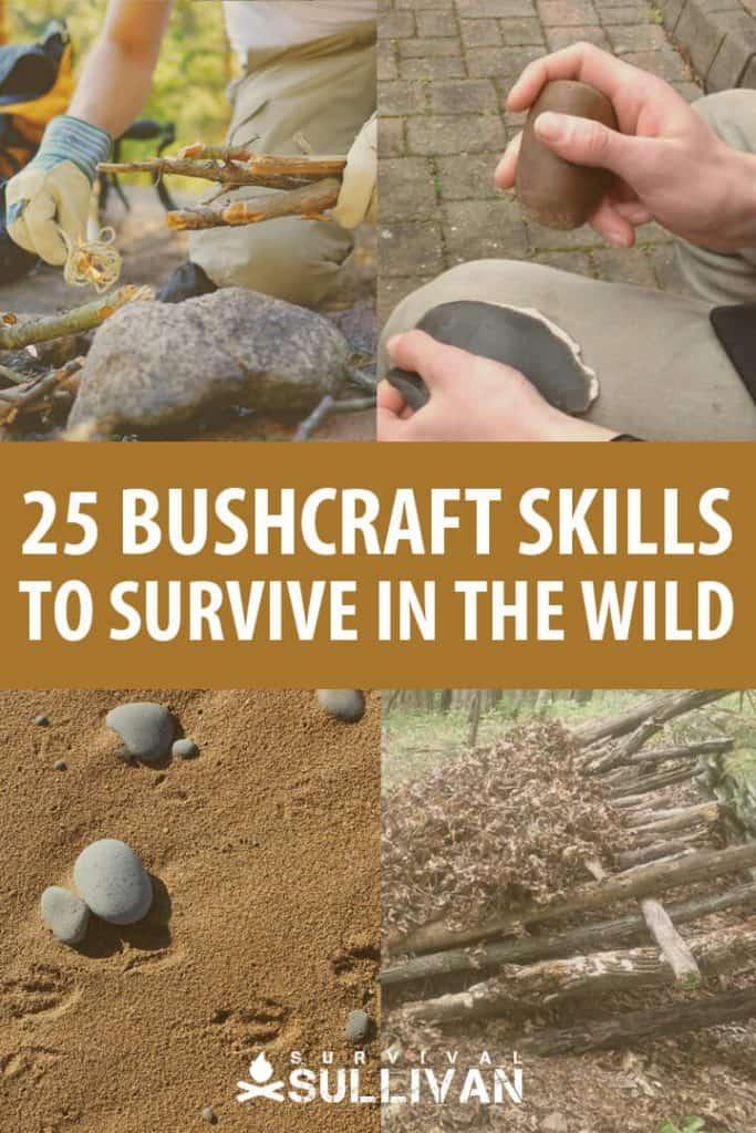 bushcraft skills pinterest image