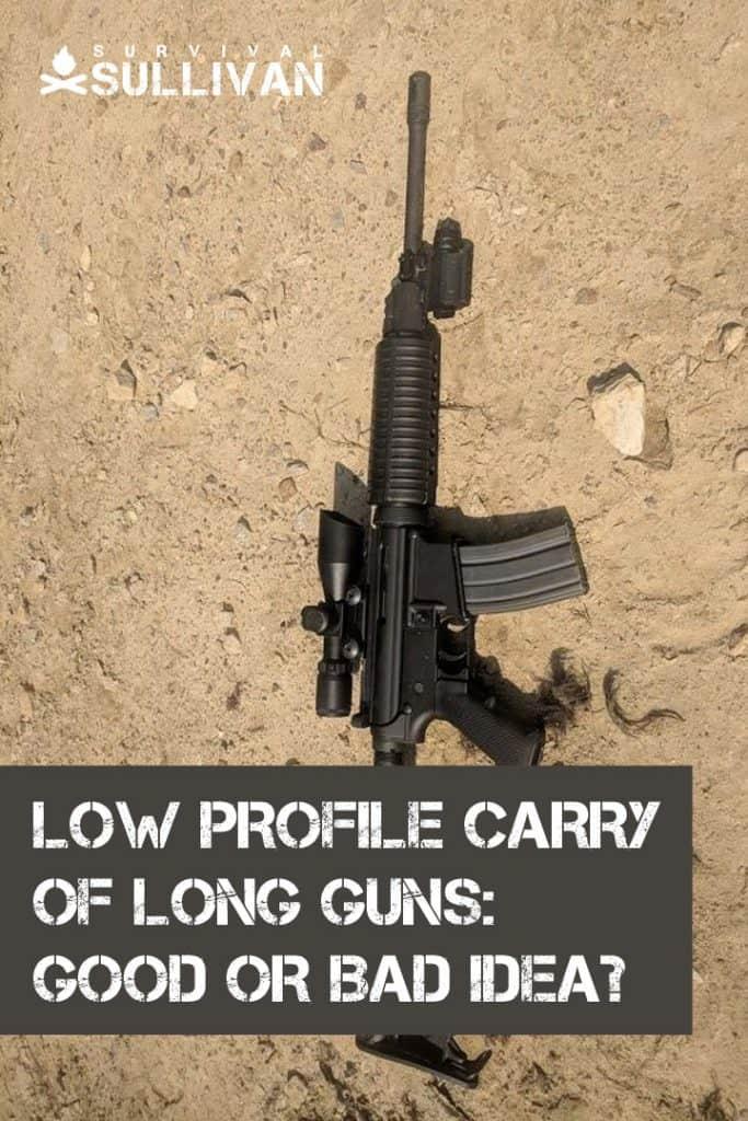 low profile long guns carry pinterest