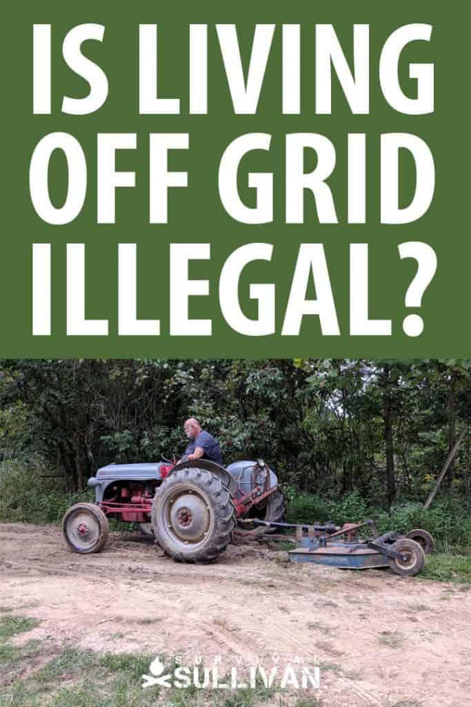 off grid legality Pinterest image