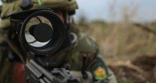 optics on rifle
