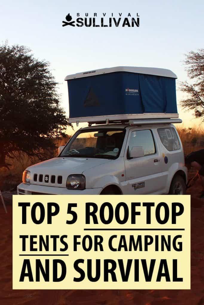 rooftop tents Pinterest image