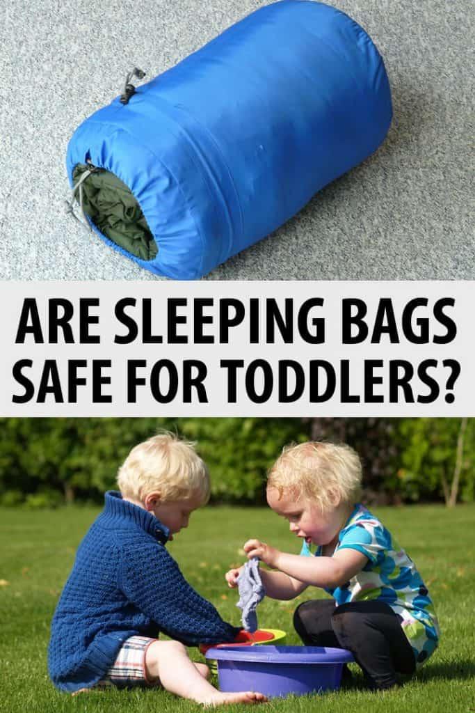 sleeping bags safe toddlers Pinterest image