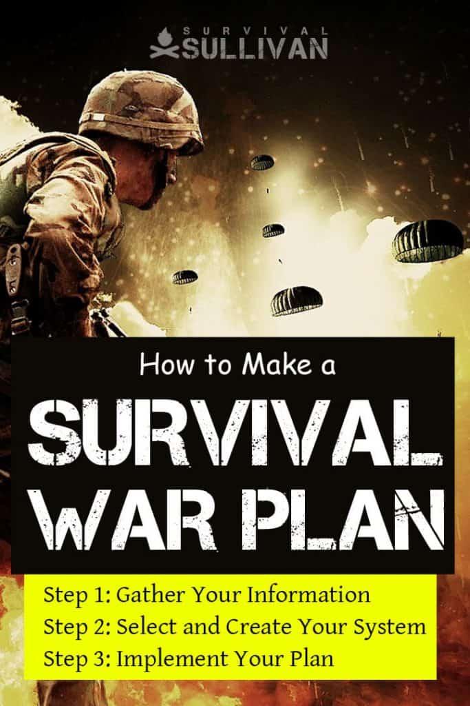 survival war plan Pinterest image