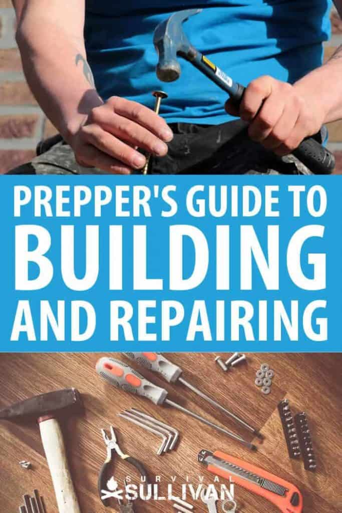 building and repairing pin