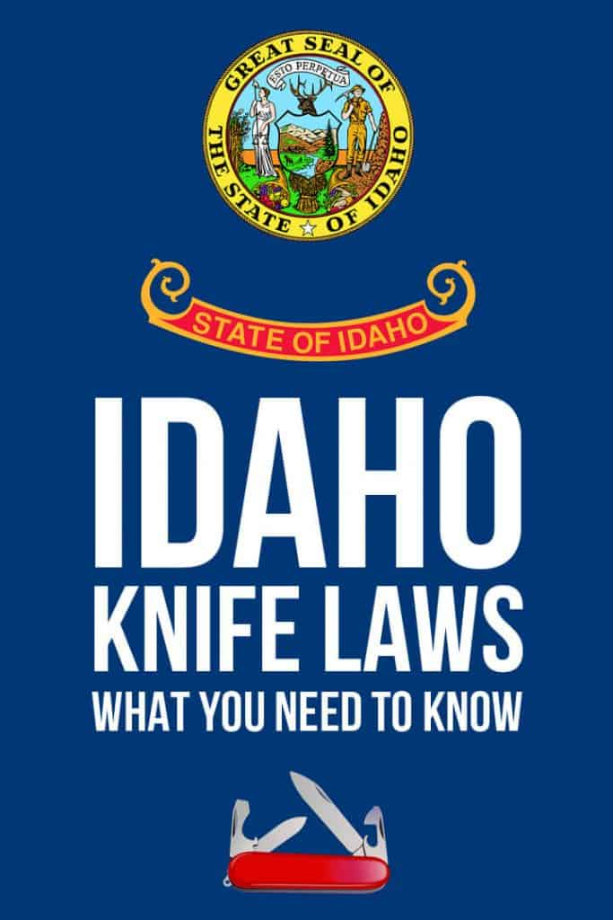 Idaho knife laws Pinterest image