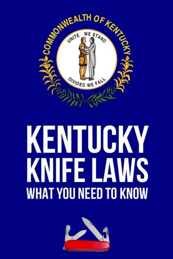 Kentucky knife laws Pinterest image