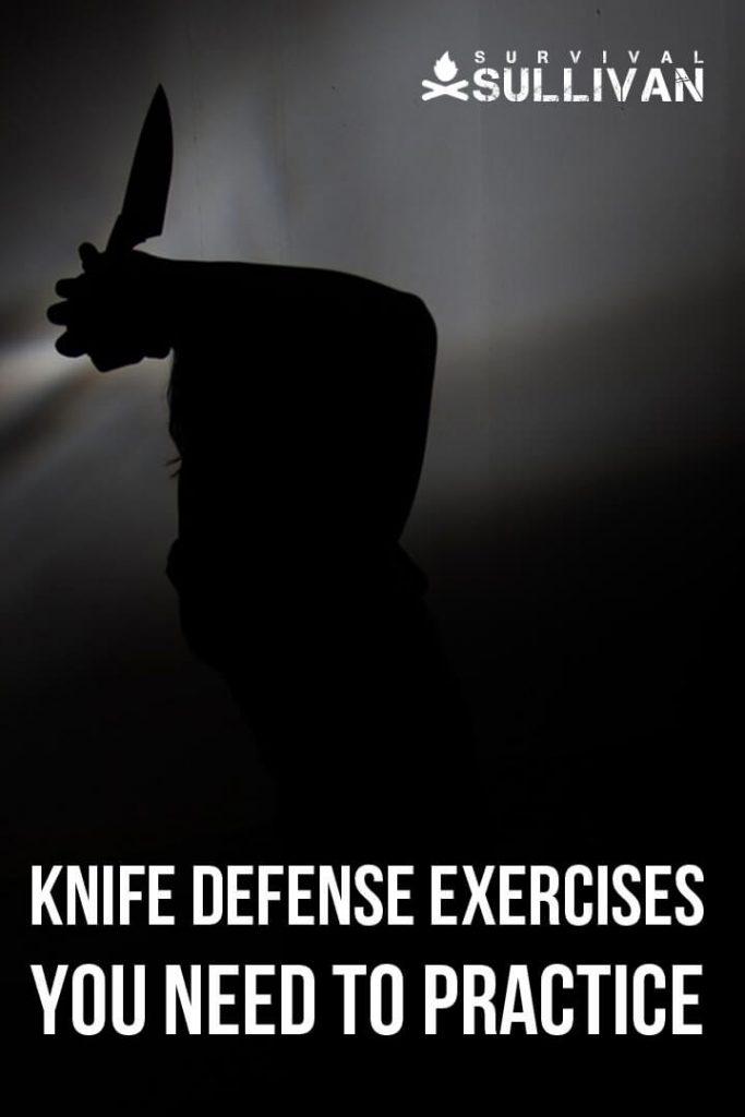 knife defense exercises pinterest image