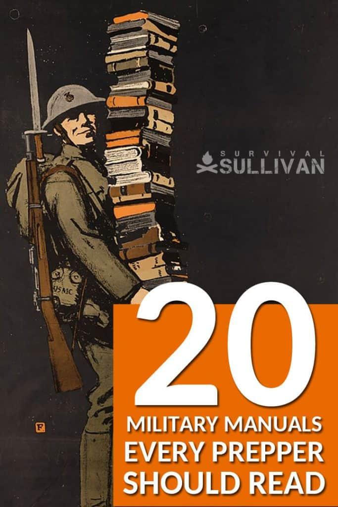military manuals Pinterest image