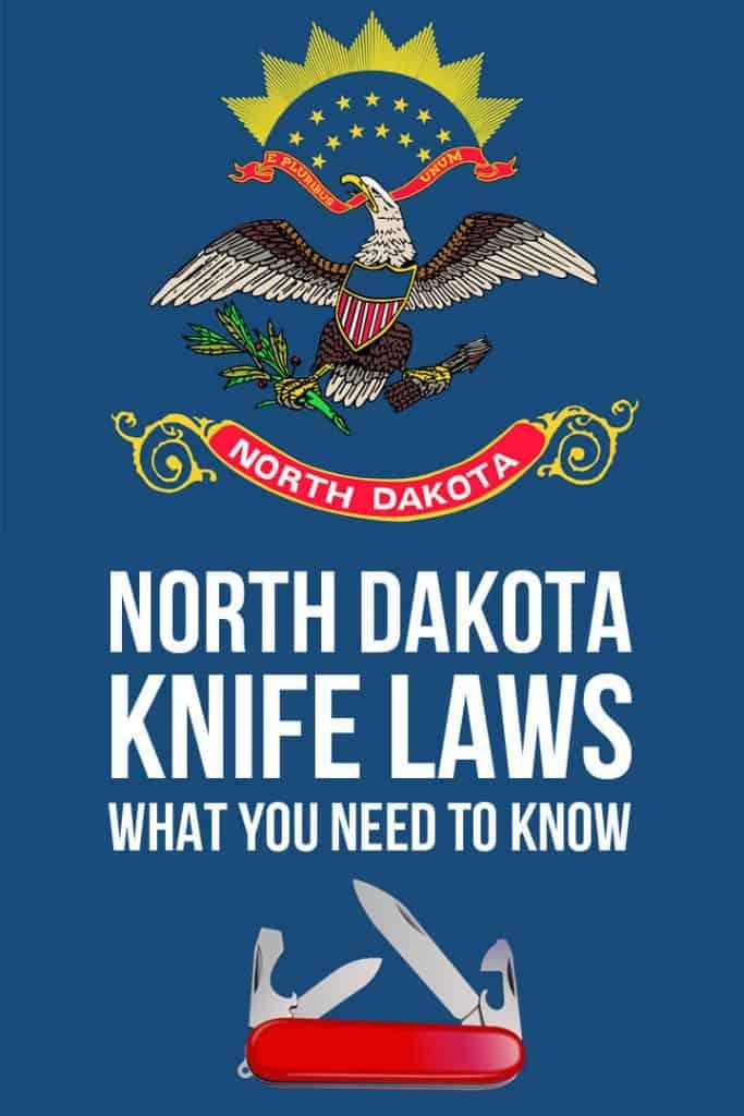 north dakota state knife laws pinterest image