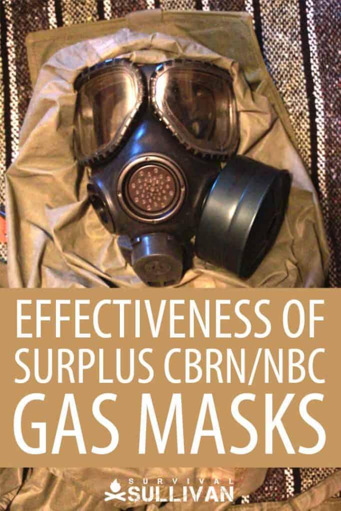 surplus gas masks Pinterest image