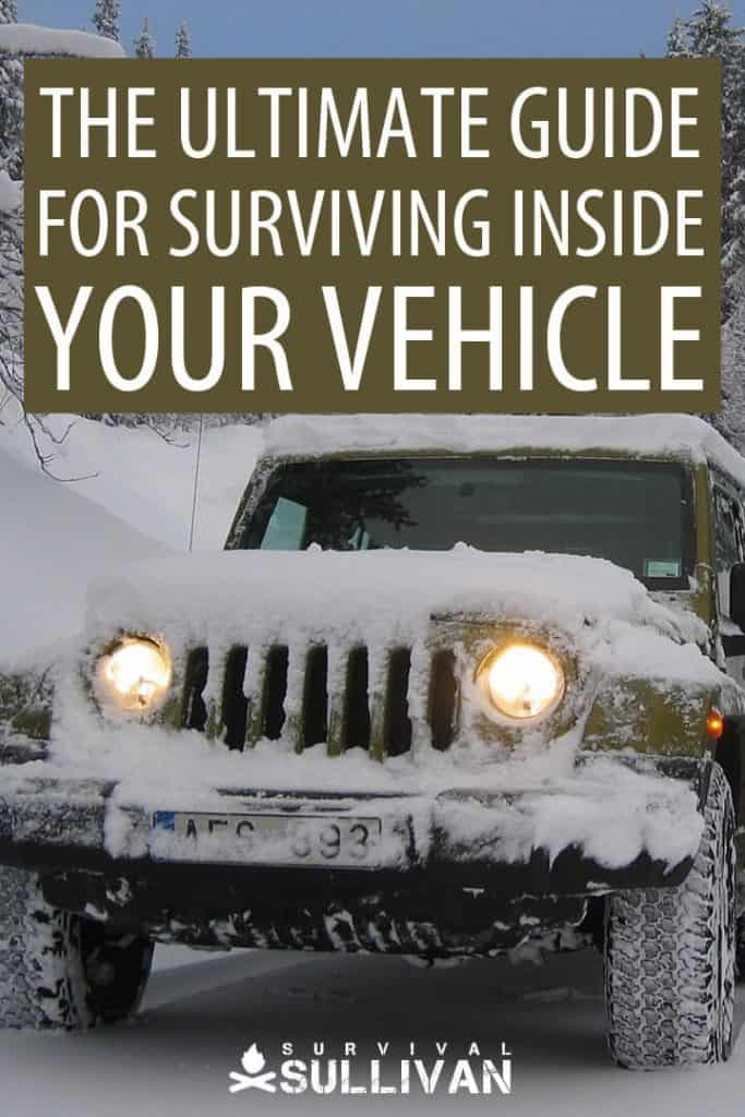 vehicle survival Pinterest image