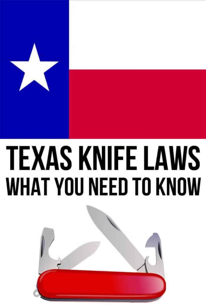 Texas knife laws pinterest image