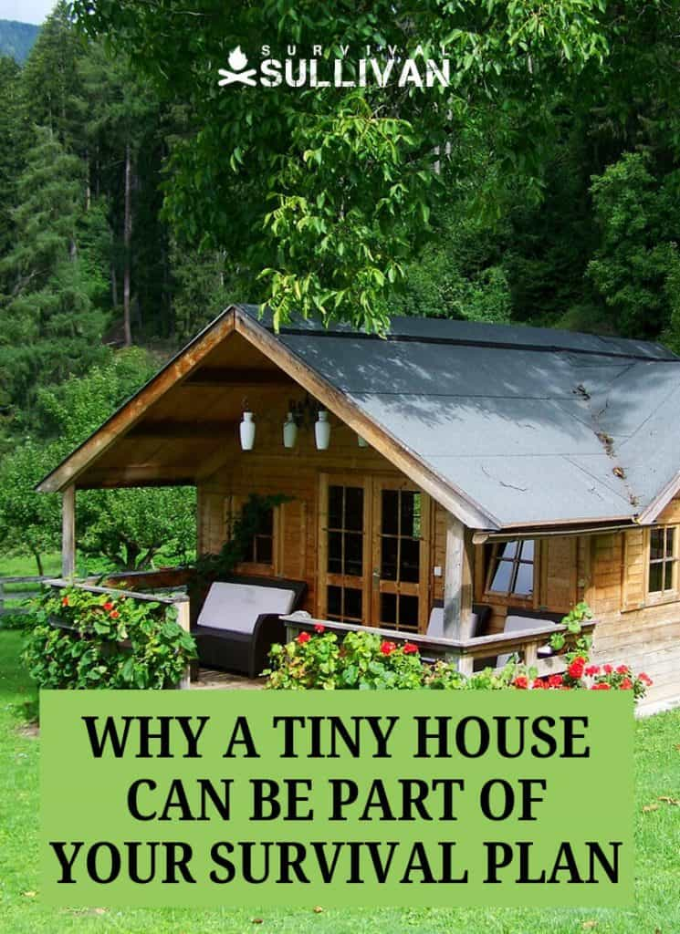 tiny house Pinterest image