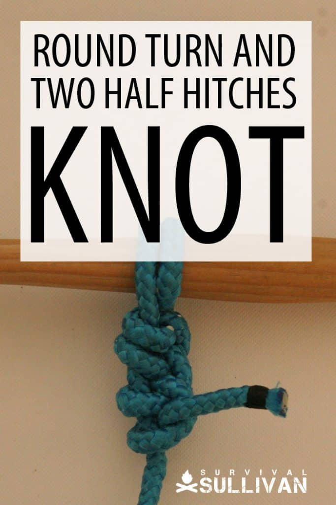 Round Turn and Two Half Hitch Pinterest image