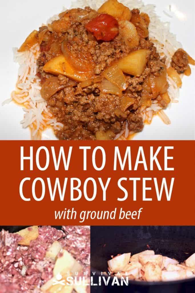 cowboy stew ground beef Pinterest
