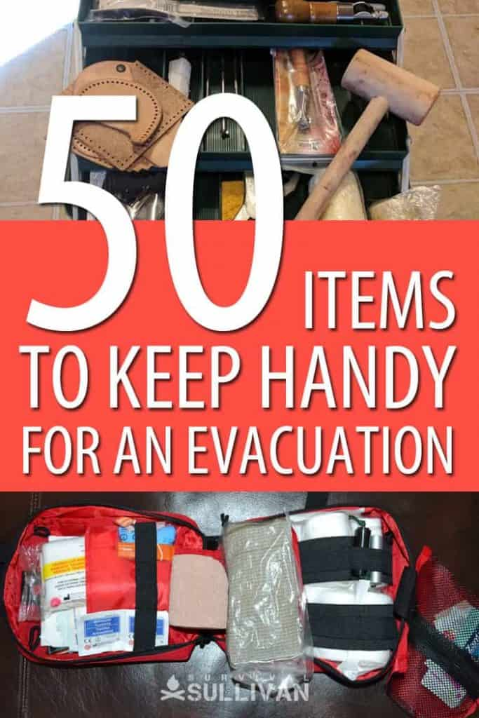 items to keep handy Pinterest image