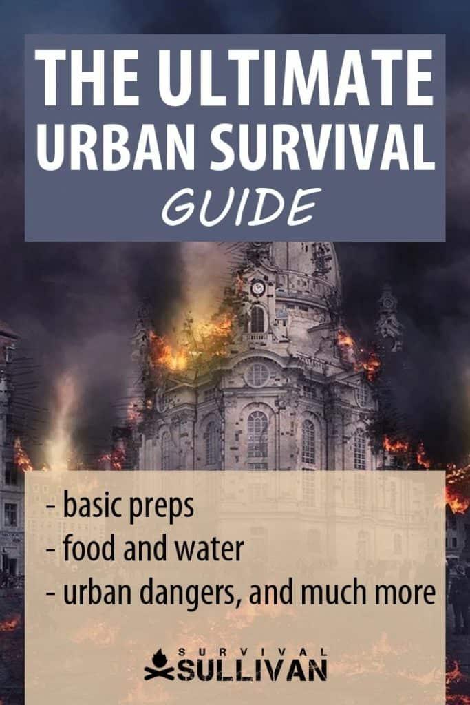 urban survival guide Pinterest image