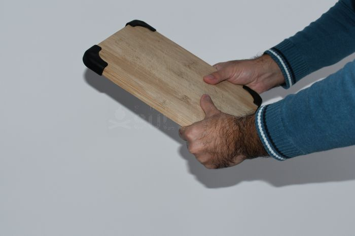 using a cutting board for self-defense