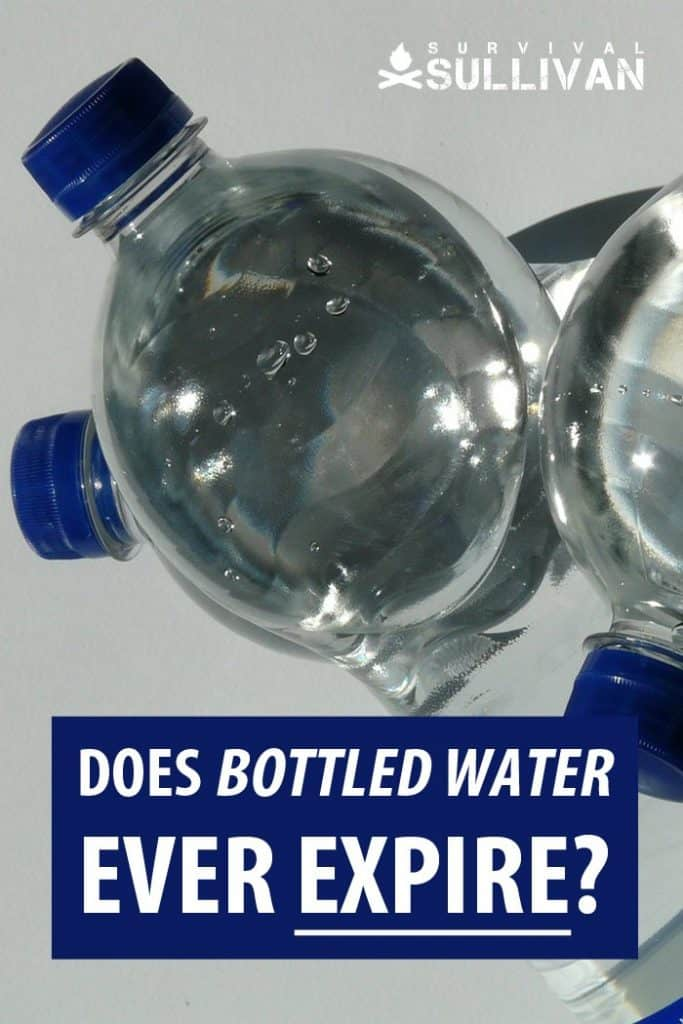 bottled water expiration Pinterest image
