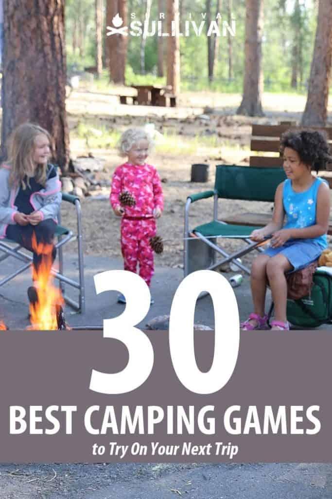 campfire games Pinterest image