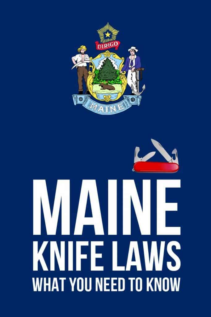maine knife laws pinterest