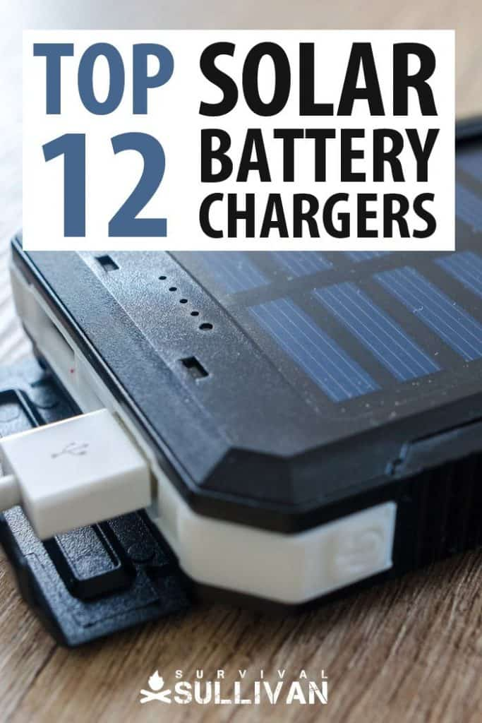 solar battery chargers Pinterest image