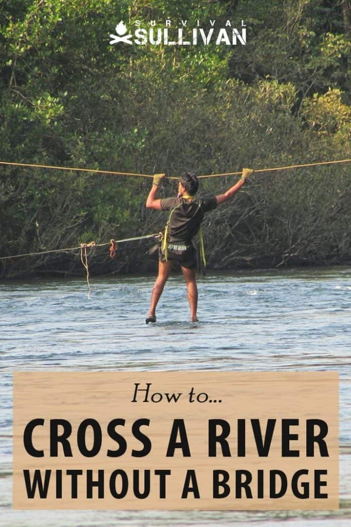 crossing a river pinterest image