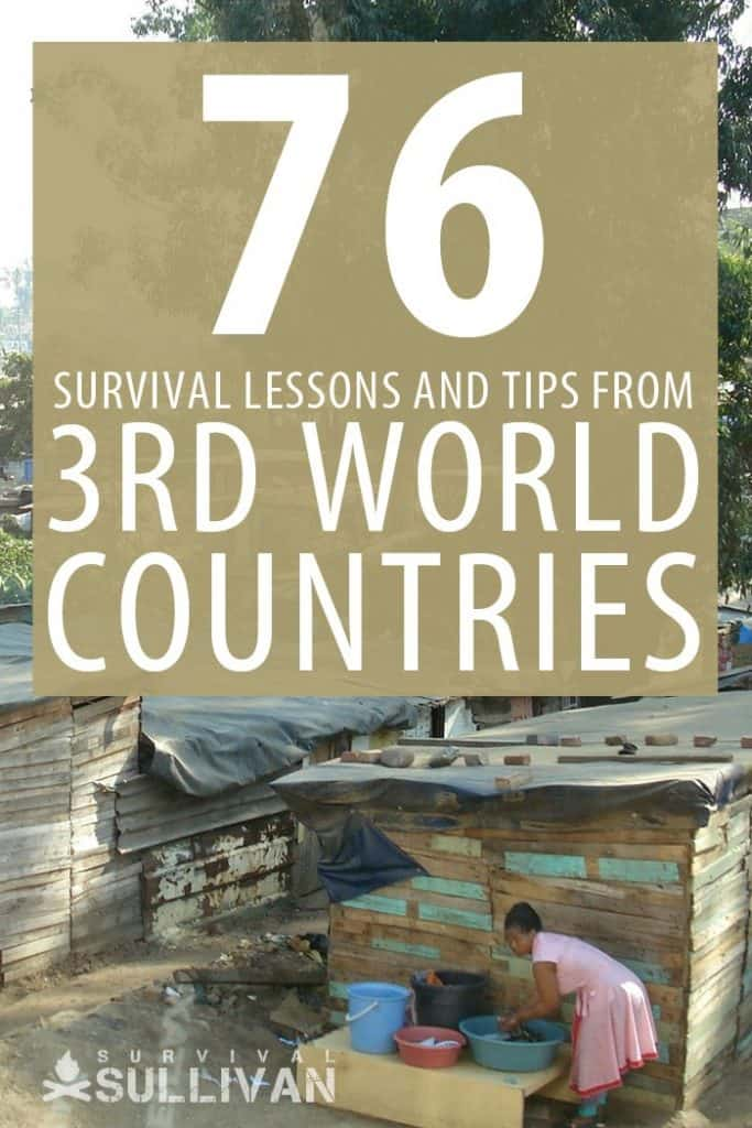 developing countries survival lessons Pinterest image
